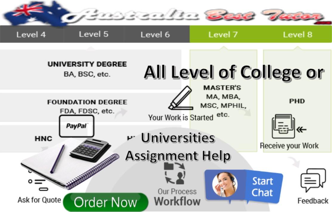College or Universities Assignment Help